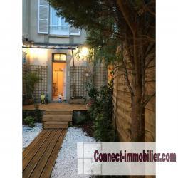 appartement 32 m² avec jardin près de la mer