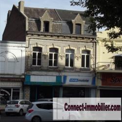 Immeuble à usage commercial et habitation centre ville Caudry