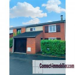 Maison avec garage Marquette-lez-Lille